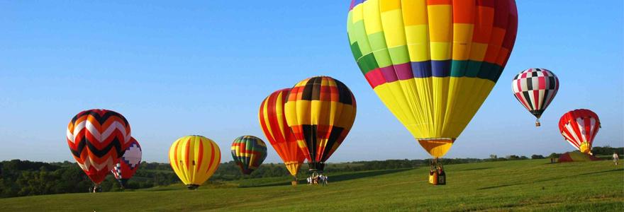 France en montgolfière